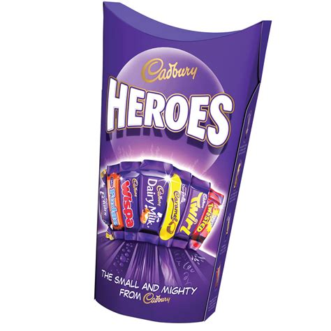Cadbury 3 In 1 cadbury heroes 290g cadbury gifts direct