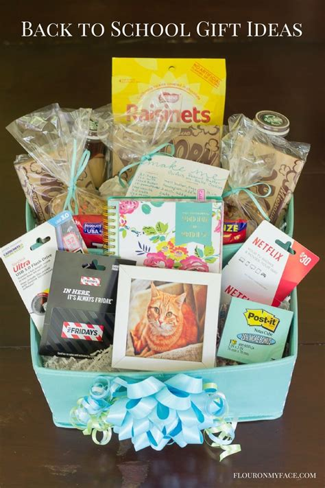 school gift ideas diy back to college gift basket giftcardmall gcmallbts