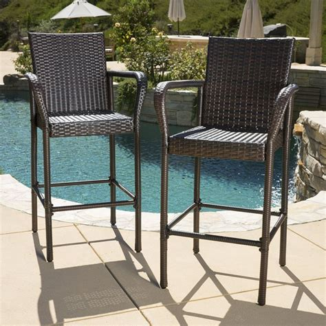Bar Stools For Outside Use by Outdoor Bar Stools For Patio Seat