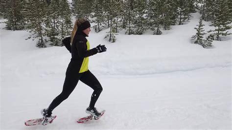 snowshoe running shoes run atlas snowshoes