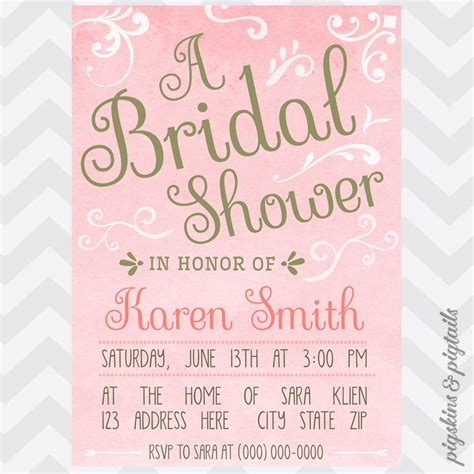 How To Make Wedding Invitation Ppt Yaseen For Bridal Shower Template