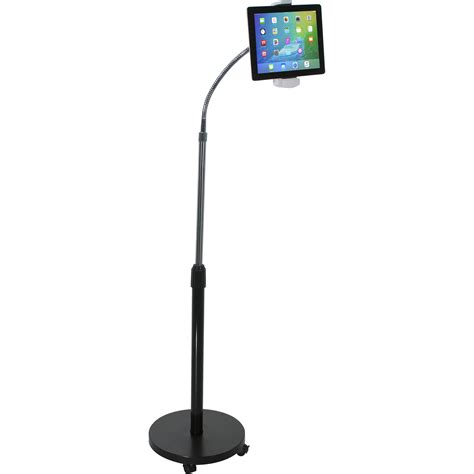 Gooseneck Floor Stand by Cta Digital Gooseneck Floor Stand For Tablets Pad Gfs B H