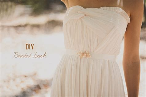 search diy wedding sash belt myideasbedroom