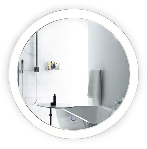 round bathroom mirrors with lights led 22 round bathroom mirror lighted with dimmer