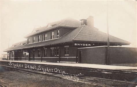 snyder oklahoma depot 187 frisco archive