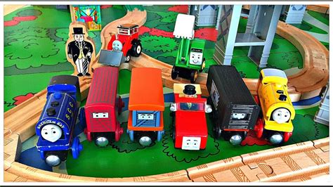 and wooden railway table wooden railway play table with bill ben