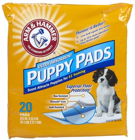 arm and hammer puppy pads arm hammer puppy floor protection pads 20 pads