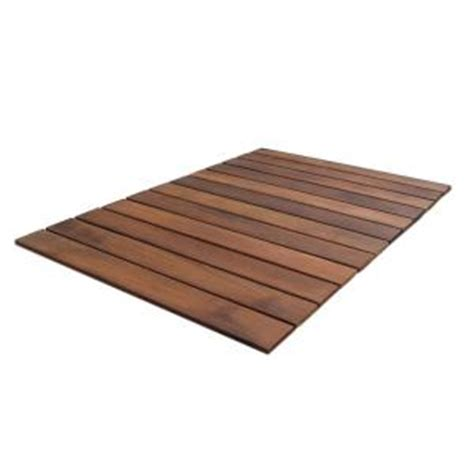 rollfloor mat  ft   ft roll  wood deck tile