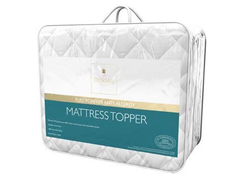 Dorma Memory Foam Mattress Topper Reviews by Dorma White Goose Feather And Mattress Topper Reviews