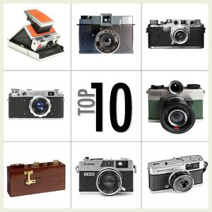 top 10 most fashionable film cameras of all time