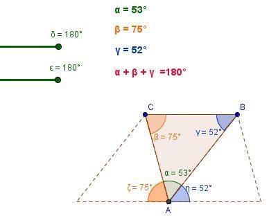 somma degli angoli interni di un triangolo matematicamedie somma degli angoli interni di un triangolo