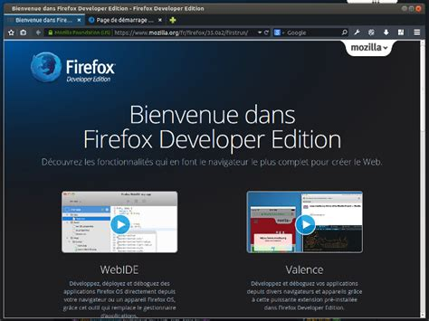themes firefox developer edition firefox developer edition point de vue d un d 233 veloppeur