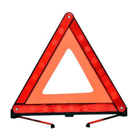 car reflective triangular parking warning signs vehicle