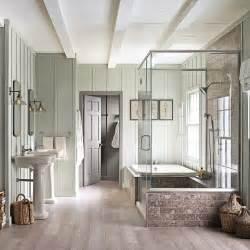 salle de bain aux racines nordiques salle de bain