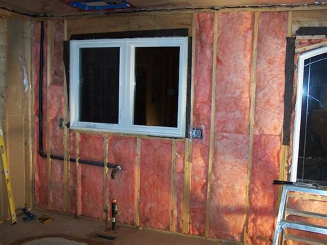Insulating Interior Walls by How To Install Fiberglass Batt Insulation