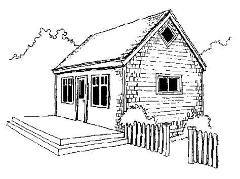 Guest Cottage Floor Plans A 14 X24 Little House With A Loft