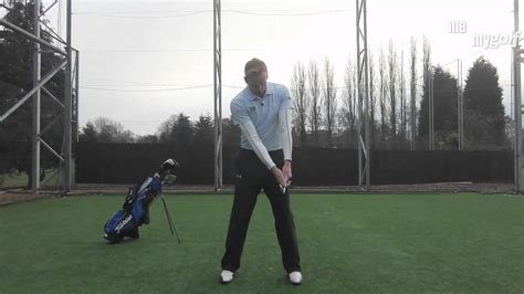 golf swing follow through drill golf swing drill stop scooping at impact youtube