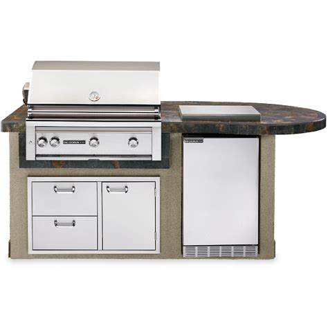 sedona by lynx bbq island with 36 inch propane gas grill sedona by lynx deluxe bbq island with 36 inch natural gas