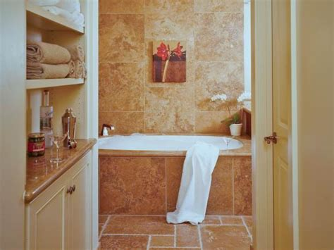 secrets to bathroom shelving hgtv