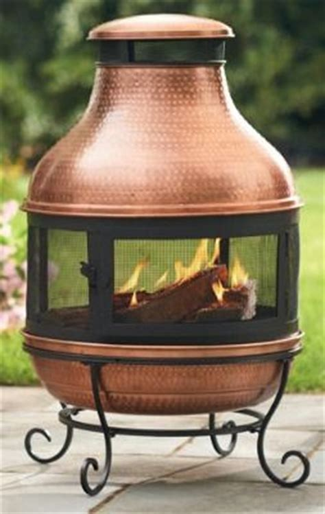 Copper Chiminea Bask In The Glow Of Our Perfectly Proportioned