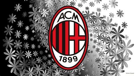 Backpack Ac Milan Blackwhite ac milan logo wallpapers barbaras hd wallpapers