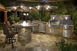 Outdoor Bbq Kitchen Ideas Custom Amp Semi Custom Outdoor Kitchens Galaxy Outdoor