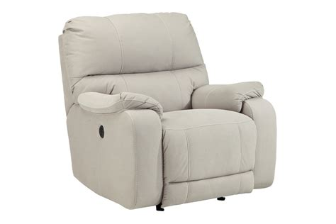 white recliner rocker bohannon power rocker recliner at gardner white