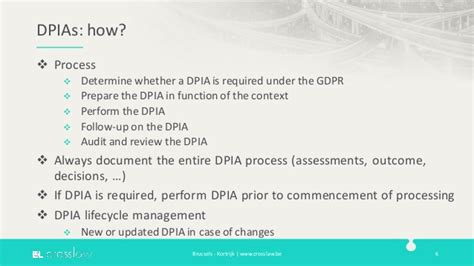 Data Protection Impact Assessments Under The Gdpr Gdpr Privacy Impact Assessment Template