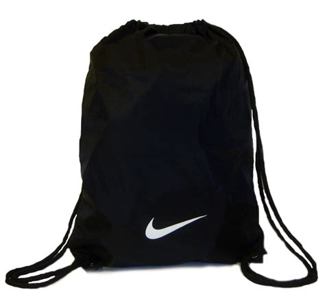 nike black drawstring gymsack uksize1 ebay
