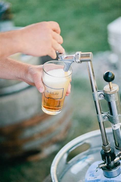 7 Cool Ways to Serve Beer at Your Wedding   Creative, Beer