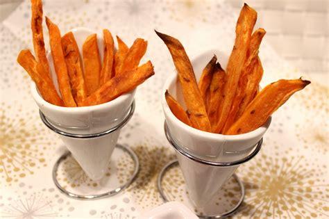 cuisiner patate douce au four frites de patate douce au four pour ceux qui aiment