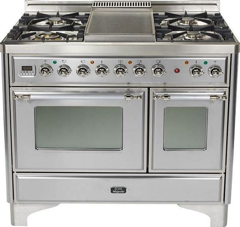 40 gas range new 40 quot dual fuel range by ilve style performance ebay