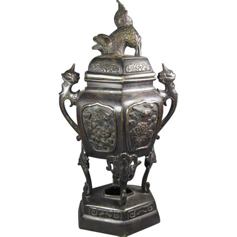 Bronze L Finial by Japanese Bronze Vase Fo Finial From