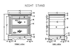 learn     wooden night stand woodworking plans