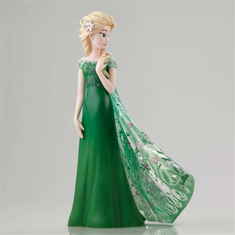 elsa figurine enesco disney showcase elsa as seen in frozen fever