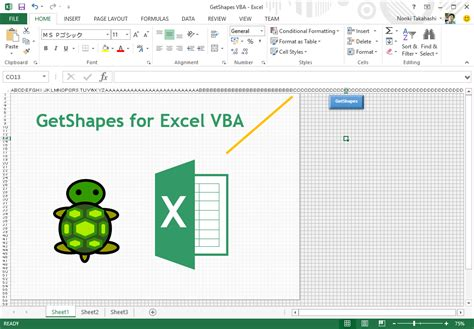 visio vba programming excel 2010 vba select shape by name how to assign a