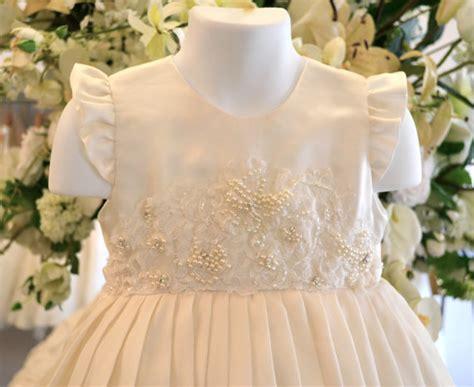Wedding Dedication Blessing by Baptism Dress Christening Dress Flower Dresses