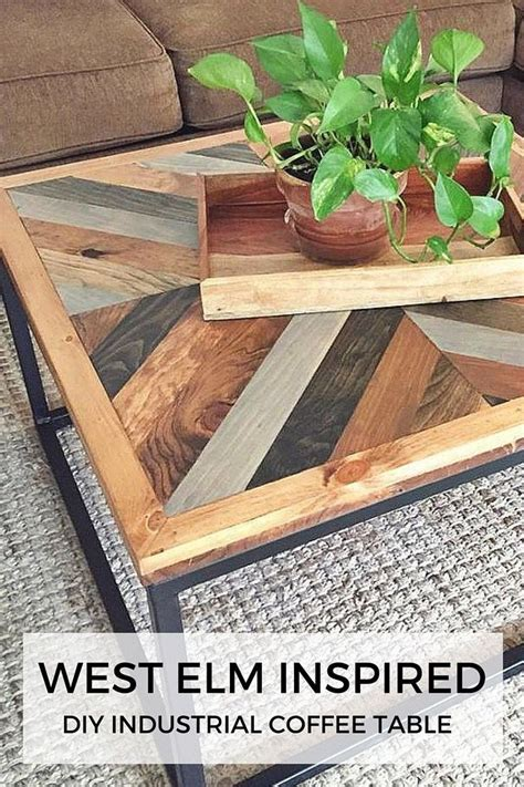 west elm coffee west elm inspired industrial diy coffee table for the