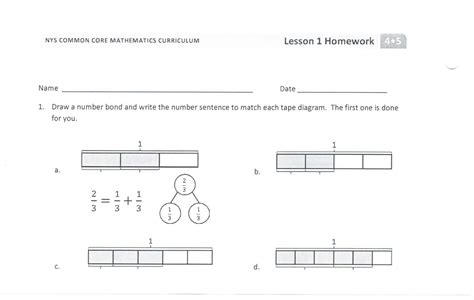 Decompose Fractions Worksheet by Decomposing Fractions Worksheets 4th Grade Search