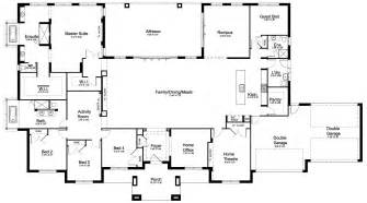 house plans with large bedrooms floor plan friday 5 bedroom acreage home
