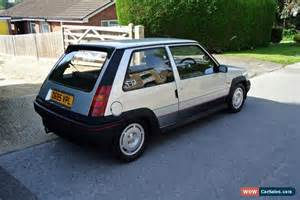 Renault Gt Turbo For Sale 1986 Renault 5 Gt Turbo For Sale In United Kingdom