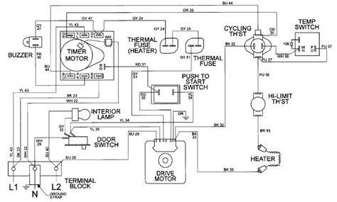 maytag dryer pye2300ayw wiring diagram 28 images