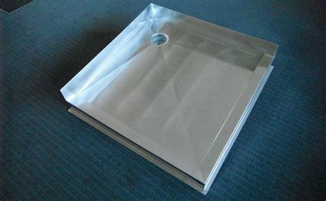 Metal Shower Pan by Shower Trays Classic Stainless Steel