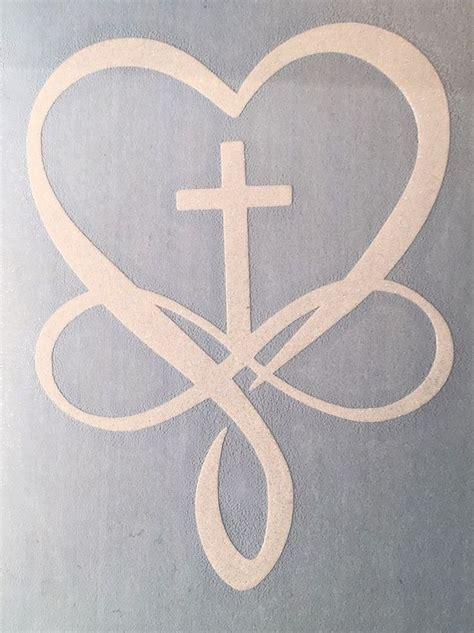 cross with infinity best 25 cross infinity tattoos ideas on