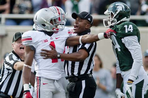 ohio state football student section handicapping the 2014 college football playoff the