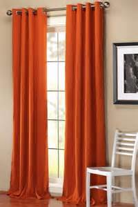 Orange Panel Curtains Orange Curtains