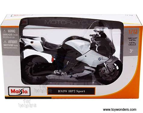 Maisto Real Motor Cycle 03 66 bmw hp2 sport motorcycle 31159 1 12 scale maisto wholesale diecast model car