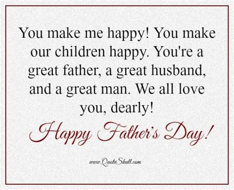 happy fathers day quotes to husband 20 best s day images on masculine cards