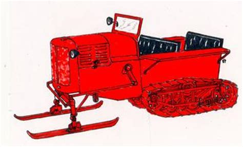 Allis Chalmers Snow Cat Tractorshed Com