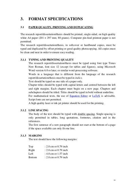 dissertation preparation page margins for a dissertation